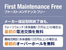 ファースト・メンテナンス・フリー